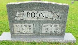Ruby Justin <i>Skidmore</i> Boone