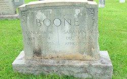 Sarah Anne <i>Vickers</i> Boone