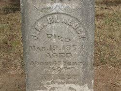 James Madison Blalock