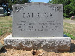 Victor Ellsworth Barrick