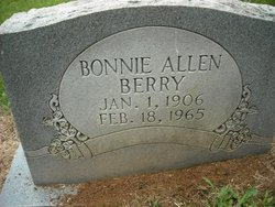Mary Bonnie Lee <i>Allen</i> Berry