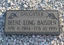 Irene <i>Long</i> Baisden