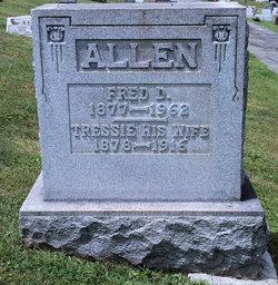 Tressia <i>Mosser</i> Allen