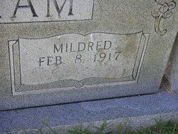 Mildred <i>Crabtree</i> Barham