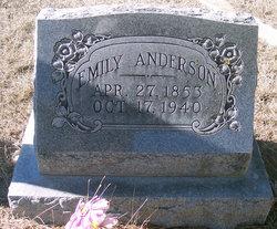 Emily <i>Dix</i> Anderson