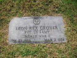 Leon Rex Grover, Sr