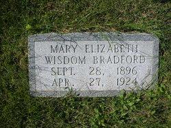 Mary Elizabeth <i>Wisdom</i> Bradford