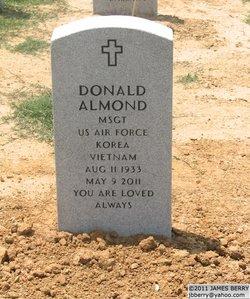 Sgt Donald Almond