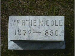 Mertie M. Cole
