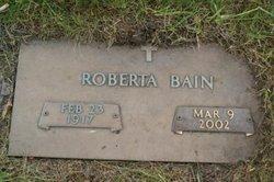 Roberta <i>Bays</i> Bain