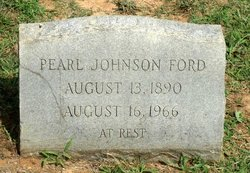 Pearl <i>Johnson</i> Ford