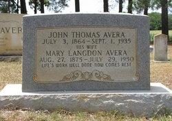Mary <i>Langdon</i> Avera