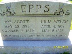 Joseph Scott Joe Epps