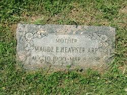 Maude Ellen <i>Armstrong</i> Heavener Arp