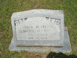 Amber Beatrice <i>Sumrall</i> Buchanan