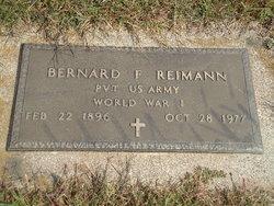 Bernard E Reimann