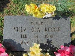 Villa Ola <i>Washington</i> Riddle