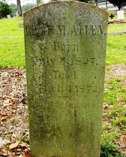 Capt F. M. Allen