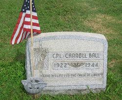 Corp Carroll Ball