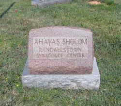 Ahavas Sholom Congregation Cemetery