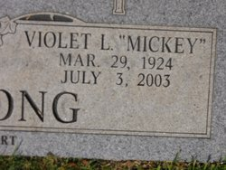 Violet Linnell Mickey <i>Bivins</i> Armstrong
