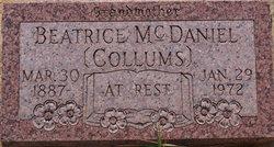 Beatrice <i>McDaniel</i> Collums