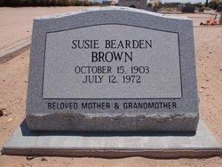 Susie Alberta <i>Bearden</i> Brown