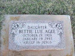 Bettie Lue Agee