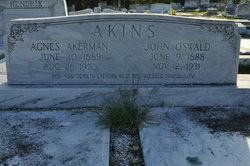 Agnes <i>Akerman</i> Akins