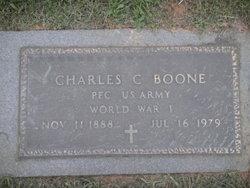 Charles C Charlie Boone