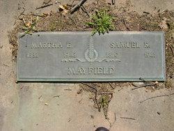 Martha E. <i>Ashley</i> Mayfield