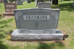 Anne L <i>Hampton</i> Friedmann