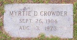 Myrtle Myrtie <i>Denton</i> Crowder