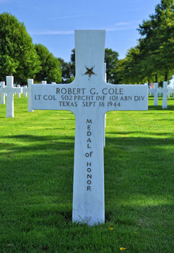 LTC Robert George Cole