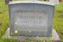 Rebecca Elizabeth Lizzie <i>Hawthorne</i> Sheffield