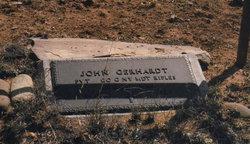 John (Johan Georg) Gerhardt, Sr