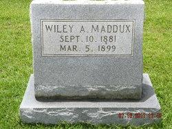 Wiley A. Maddux
