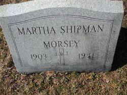 Martha <i>Shipman</i> Morsey