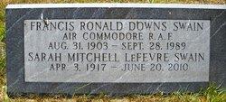 Francis Ronald Downs Swain