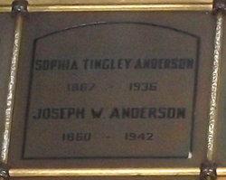 Sophia <i>Tingley</i> Anderson