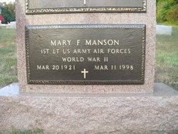 Mary <i>Feeney</i> Manson