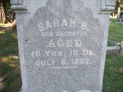 Sarah B Alexander
