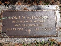 Doris Williams Alexander