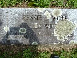 Elizabeth F Bessie <i>Webb</i> Davenport