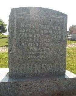 Marie Bohnsack