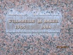 Willabelle Mary Billie <i>Hatch</i> Baker