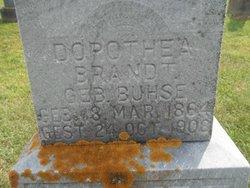 Dorothea <i>Buhse</i> Brandt