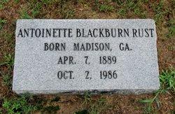 Antoinette Martin <i>Blackburn</i> Rust