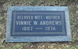 Vinnie <i>Webb</i> Andrews