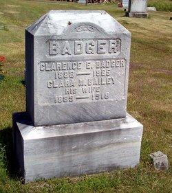 Clara May <i>Bailey</i> Badger